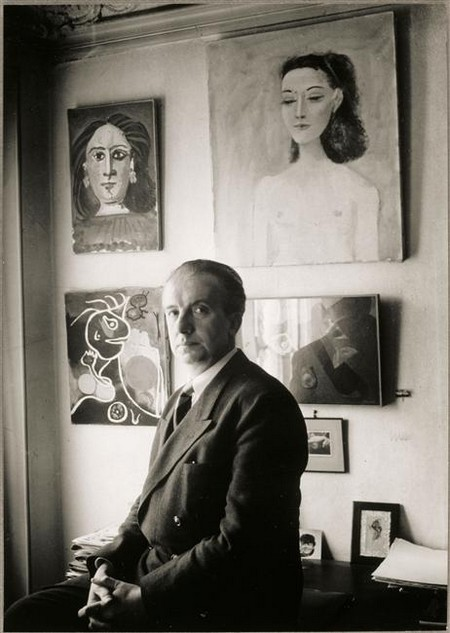 Brassai - Portrait de Paul Eluard