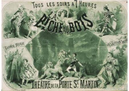 La Biche Au Bois, 1866