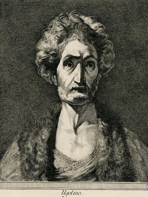 portrait -Ugolino DELLA gHERARDESCA