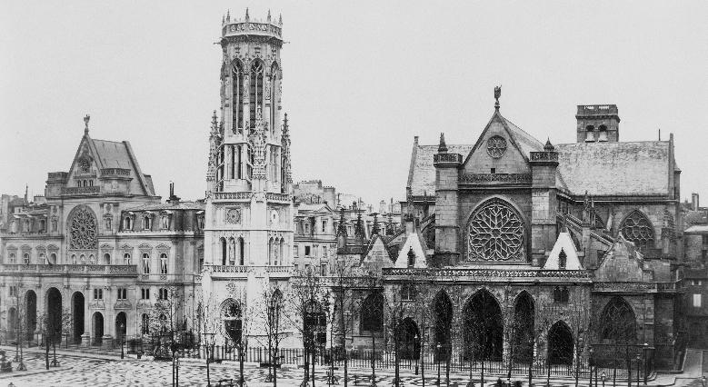 l'église Saint-Germain-l'Auxerrois au XIXe,
