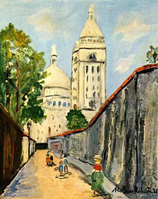 Maurice Utrillo, le peintre de Montmartre 1